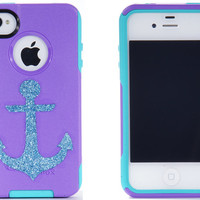 SALE iPhone 4 Otterbox Glitter Case Otterbox iPhone 4 by 1WinR