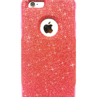 Custom iPhone 6 Plus Glitter Otterbox Commuter Cute Case,  Custom  Glitter Red/Pink Otterbox Color Cover for iPhone 6 Plus