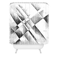 Madart Inc. Grey Scale I Shower Curtain