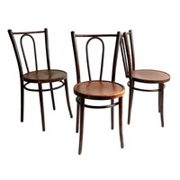 Pre-owned Berc Antoine Parisian Cafe Chairs - Set of 3