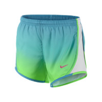 "Nike 3.5"" Tempo Graphic Girls' Running Shorts Size Large (Green)"