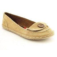 Rocket Dog Whirl Loafers Ballet Flats Shoes Brown Womens