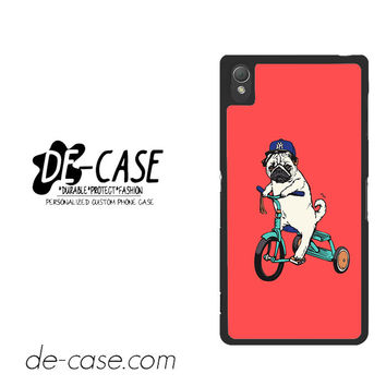 Pug Bicycle For Sony Xperia Z3 Case Phone Case Gift Present