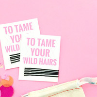 Mini Bobby Pin Sets for Oh Shit Kits and Hangover Kits or Travel Bags Bachelorette Party Favors