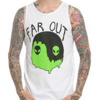 Far Out Alien Yin-Yang Tank Top