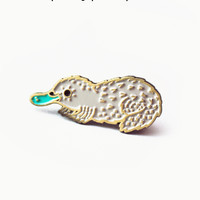 Platypus Pin Enamel Pin by boygirlparty