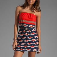 Marc by Marc Jacobs Hayley Stripe Bandeau Dress in Ink Blue from REVOLVEclothing.com