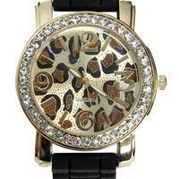 Leopard Printed Rubber Watch | Shop Accessories at Wet Seal