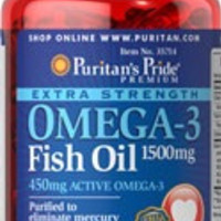 Omega 3 Fish Oil - Natural Triglyceride Form 1500 mg - 60 capsules