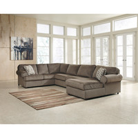 Jessa Place Sectional in Dune Fabric