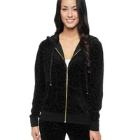Leopard Velour Jacket by Juicy Couture