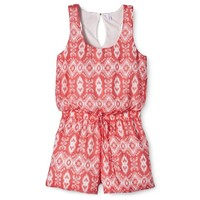 Xhilaration® Junior's Printed Romper - Assorted Colors
