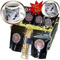 VWPics Northern - Small birds and underwear on a clothesline - Coffee Gift Baskets - Coffee Gift Basket (cgb_46187_1)