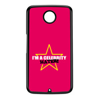 Celebrity Hater Black Hard Plastic Case for Google Nexus 6 by Chargrilled