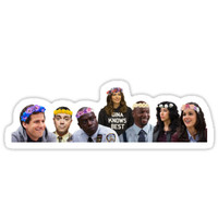 'Brooklyn 99 Cast' Sticker by maurafortino