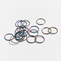 Rainbow Braid Ring Set | Urban Outfitters