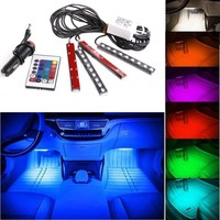 Car Truck 9 LED Neon Interior Light Lamp