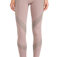 adidas by Stella McCartney Essentials Starter Tights in Taupe