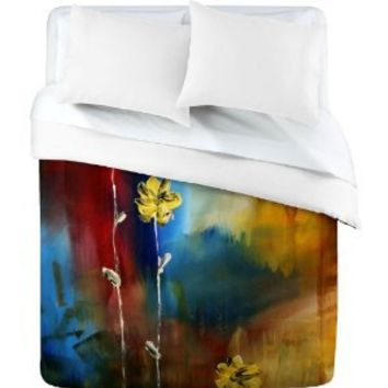 Amazon.com: DENY Designs Madart Soft Touch Duvet Cover, King: Home & Kitchen