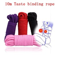 10M Thicken Fetish Play Sex Cotton Bondage Restraint Rope