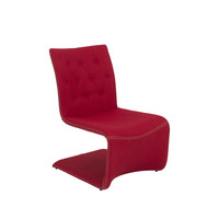 Ville Lounge Chair (Set of 2) - Red
