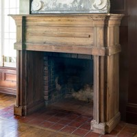 Reclaimed Pine Fireplace Mantel