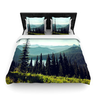 "Sylvia Cook ""Discover Your Northwest"" Landscape Woven Duvet Cover"