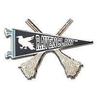 Universal Studios Harry Potter Ravenclaw Quidditch Pennant Pin New with Card