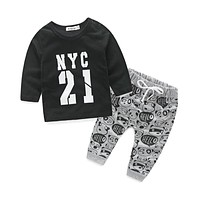 born clothes for bebes style letter printed casual baby boy clothes baby newborn baby clothes baby clothing kids clothes