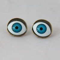 Eye earrings from kruel