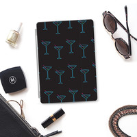 Neon Martini Pattern(Black) iPad Air 2 cover by Kanika Mathur | Casetify