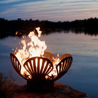 Under The Seashell Outdoor Fire Pit