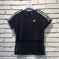 adidas Originals Hollow Net yarn Splicing Osaka Tee T-shirt