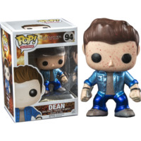 Supernatural Dean Metallic Bloodspatter FUNKO Pop Vinyl Figure