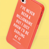 kate spade new york 'millionaire quote' iPhone 5 & 5S case   Nordstrom