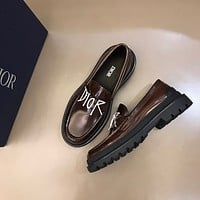 Dior Men's Recreation Loafer Leather Shoes