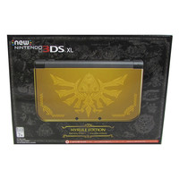 Hyrule Gold Edition New Nintendo 3DS XL Limited Edition Video Game Console