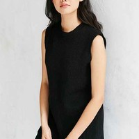 Native Youth Ribbed Knit Mini Dress