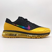 Bunchsun Nike Air Max New Fashion Multicolor Hook Sports Running Leisure Shoes