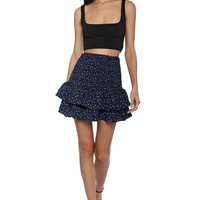BB Dakota Connect The Dots Smocked Skirt