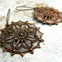 round Gypsy earrings Affordable Jewelry