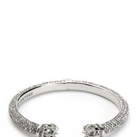 Silver Pave Juicy Crown Bangle by Juicy Couture, O/S
