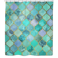 Ocean Toned Shower Curtain