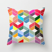 Myriad 01. Throw Pillow by Three of the Possessed