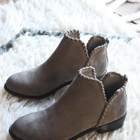 Crossroads Suede Boot, Grey | Dirty Laundry