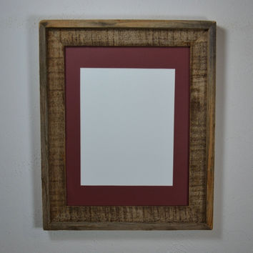 "Reclaimed wood 11""x14"" reclaimed wood photo frame traditional style"