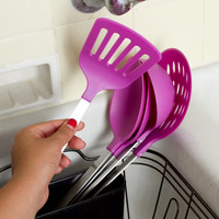Stainless Steel/ Nylon 5-piece Kitchen Utensil Set   Overstock.com Shopping - The Best Deals on Cooking Tools