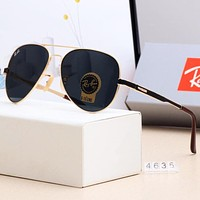 RayBan Stylish Men Women Simple Sun Shades Eyeglasses Glasses Sunglasses 6#