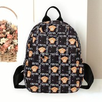Givenchy & Fendi & Burberry & Champion & Dior & Versace Fashion New More Letter Pattern Print Women Men Leisure Backpack Bag