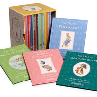 Peter Rabbit 23 Volume Library, Assorted Sets of Books